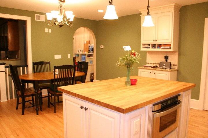 Clary Sage Paint Kitchen