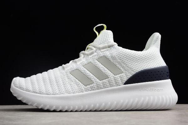adidas Cloudfoam Ultimate Pure WhiteMidnight Navy Men's