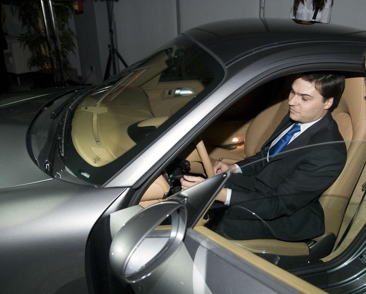 El premio de la Trading CUP 2008 fue un Porsche
