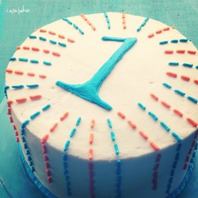 17 best ideas about simple birthday cakes on pinterest