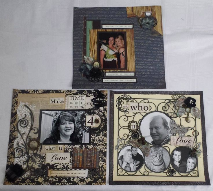 Scrapbooking page class for SENZ 2016 by Jo Johnson Imagine If