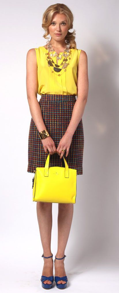 favorite. kate spade resort 2013. want the top. want the skirt. love love love
