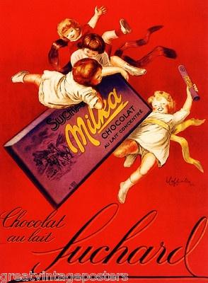 Chocolat Suchard Chocolate Children Food Cappiello Vintage Poster Repro | eBay