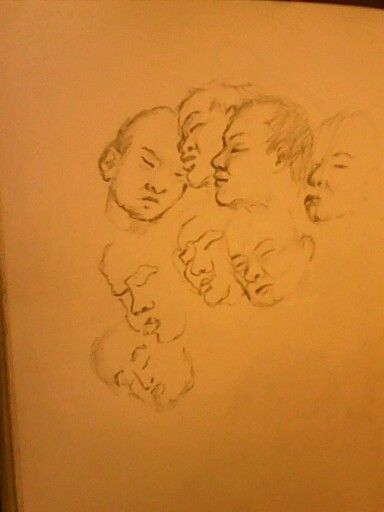 Study of sleeping man by keylee181