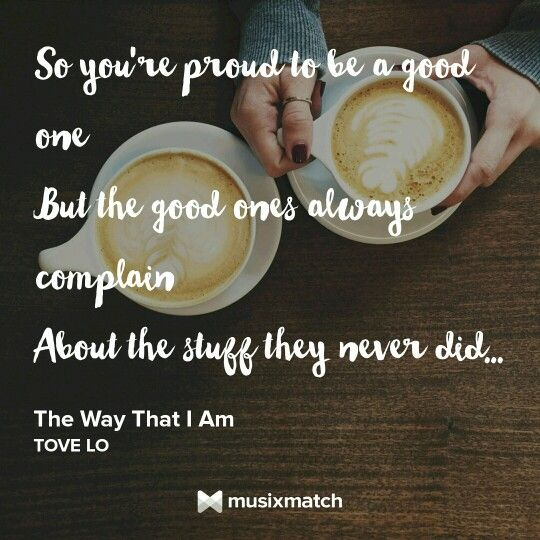 The way that i am