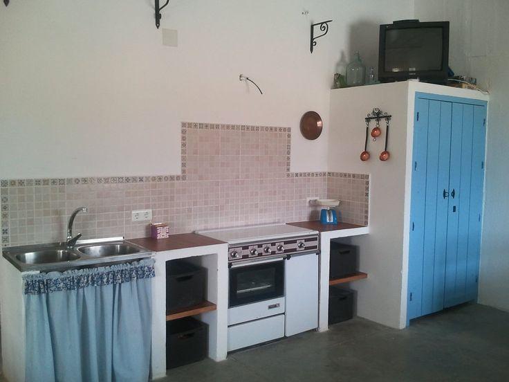 31 best images about cocinas de obra on pinterest - Campanas de cocina rusticas ...