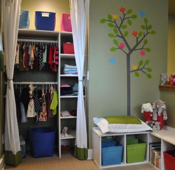 Bedroom Closet Organizers Ikea Cute Small Closets For Kids Bedrooms Recamara Santi Y Maya