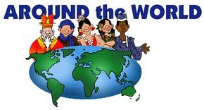 Countries of the World - FREE Lesson Plans, Powerpoints, Folktales, Activities, Games for Kids