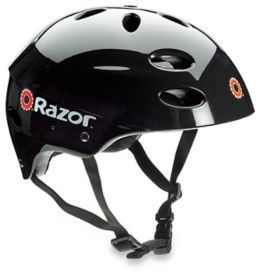 Razor V-17 Adult Multi-Sport Helmet in Black