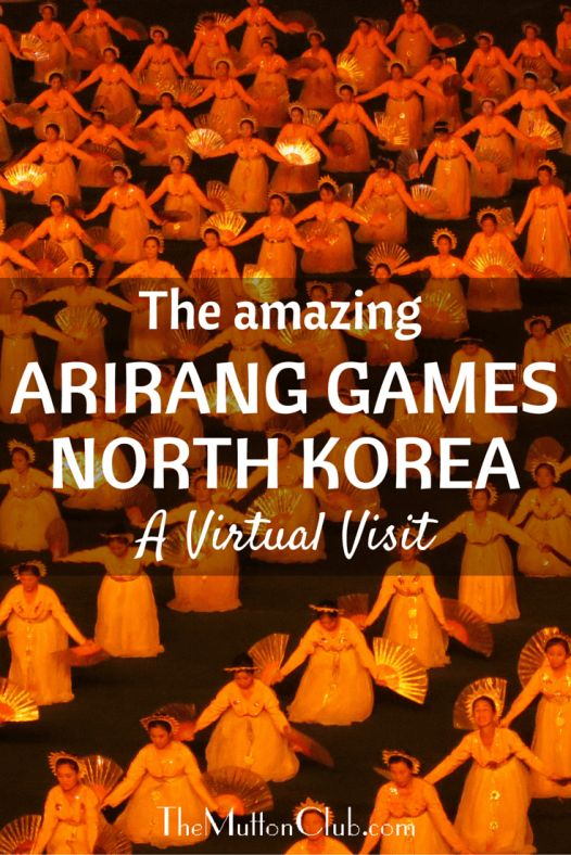 Experience the amazing Arirang Mass Games of North Korea. Something like a cross between the Beijing Olympics opening ceremony and the Nuremberg Rally!