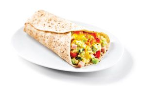 Wrap it up in only 10 minutes with a Dempster-licious  #Ham & #cheese #breakfast Wrap!
