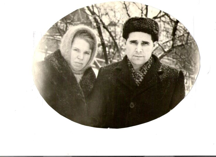 Grandma Lyubov & Grandpa Aundrey from Dad's side