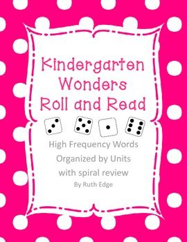 Kindergarten Wonders Roll and Read