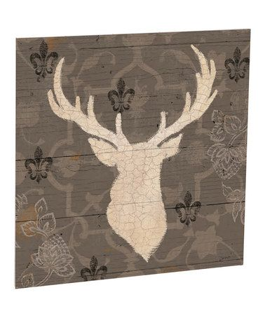 Love this Rustic Buck Outdoor Wall Art on #zulily! #zulilyfinds