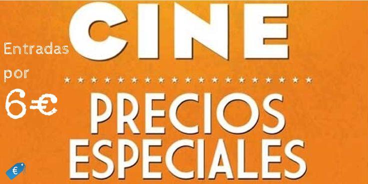 Ve al cine por mucho menos. Disfruta en tu Sala Cinesa más cercana con entradas a 6€, un descuento de 36% en todos los estrenos, todos los días. #cine  #estrenos #peliculas #cinesa