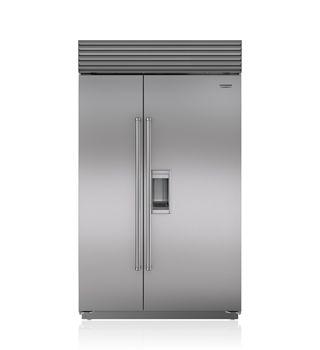 "Sub-Zero 48"" Built-In Side-by-Side Refrigerator/Freezer with Dispenser  BI-48SD/S"