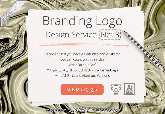 Branding Exclusive Logo No 3 by joyologo on @creativemarket