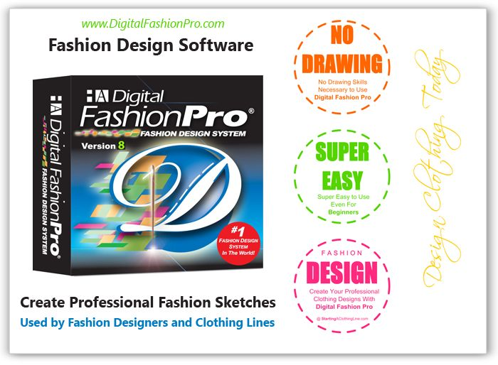 Digital Fashion Pro - Fashion Design Software - Official Page for fashion designers