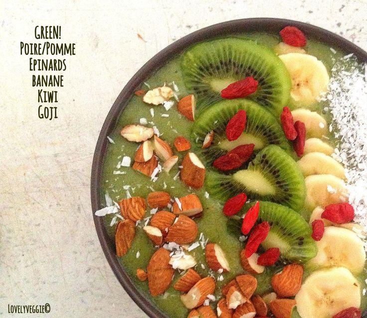 Smoothie Bowl [Vegan, cru, sans gluten] | LovelyVeggie