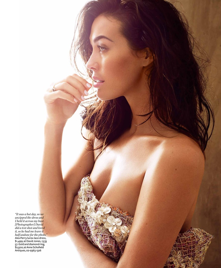 Celebrity Megan Gale photographed by UTOPIA photographer DAVID GUBERT for IN STYLE Australia. www.utopianyc.com.