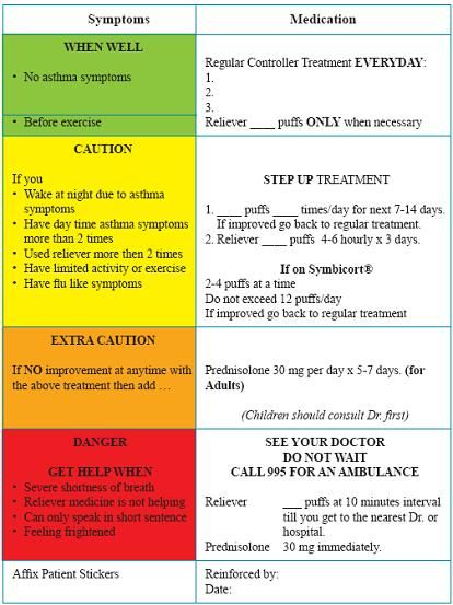 7334 best Asthma Symptoms images on Pinterest Asthma symptoms - sample asthma action plan