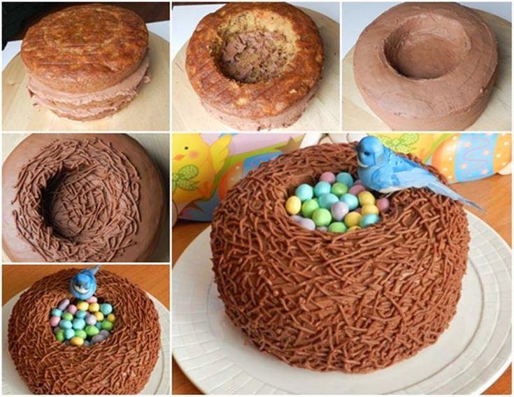 Daddy Cool!: Υπεροχο Πασχαλινό κέικ καλάθι
