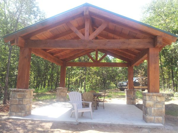 Pavilion Want Pole Barn Living Pinterest