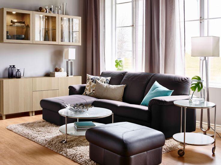 Wohnzimmer Ideen Ohne Fernseher : Ein Wohnzimmer mit TIMSFORS er Sofa ...