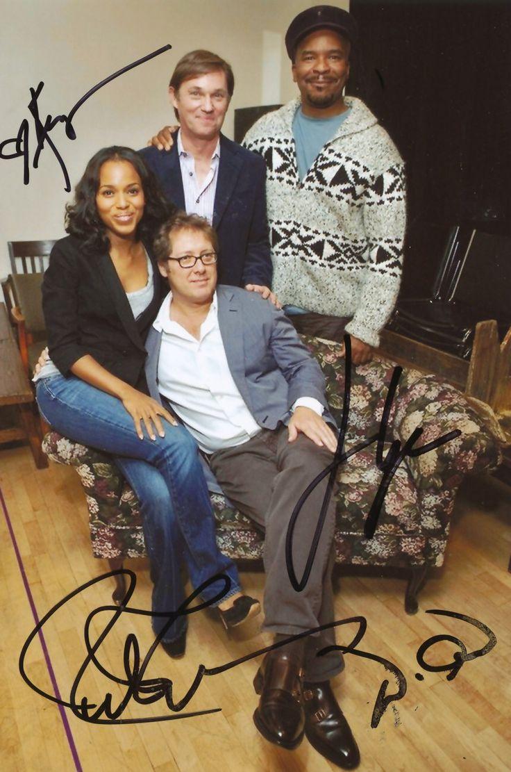 "Original Cast of Mamet's ""Race"" 2009-2010 (#Spader, Kerry Washington, Richard Thomas, David Alan Grier)"