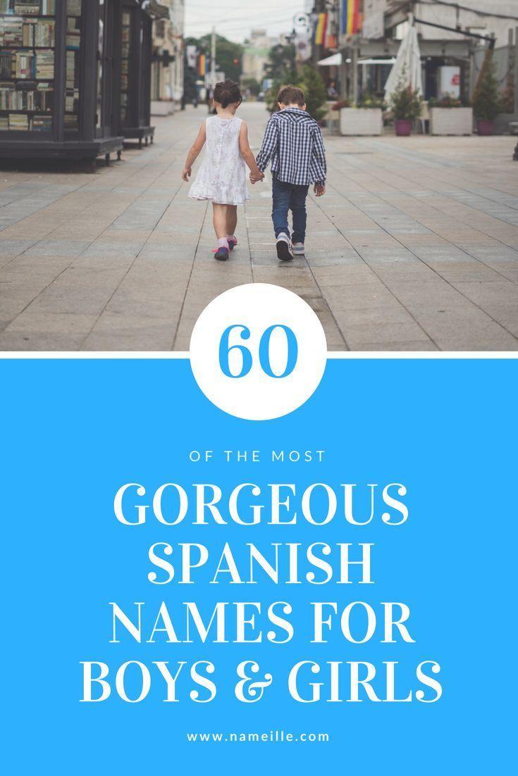 60 prachtige Spaanse namen voor meisjes en jongens
