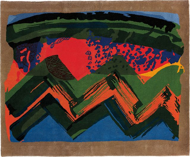 Howard Hodgkin | Sunset - India (1985) | Available for Sale | Artsy