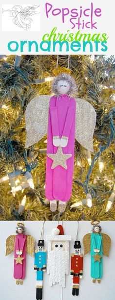 www.creativemeinspiredyou.com These fun crafts are just perfect for the kids to create memories on the Christmas tree. Christmas, crafts, kids crafts, kids, decor, ornaments, sparkle, glitter, paint, crafts, crafting, ornaments, christmas tree, diy, homemade, handmade