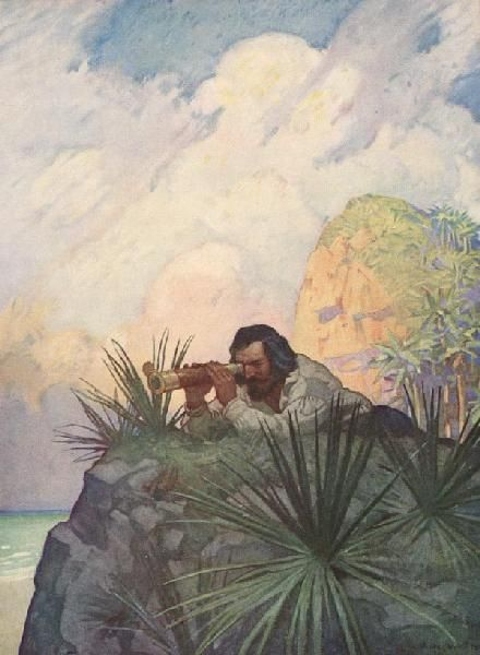 An analysis of the factor of solitude in robinson crusoe a novel by daniel defoe