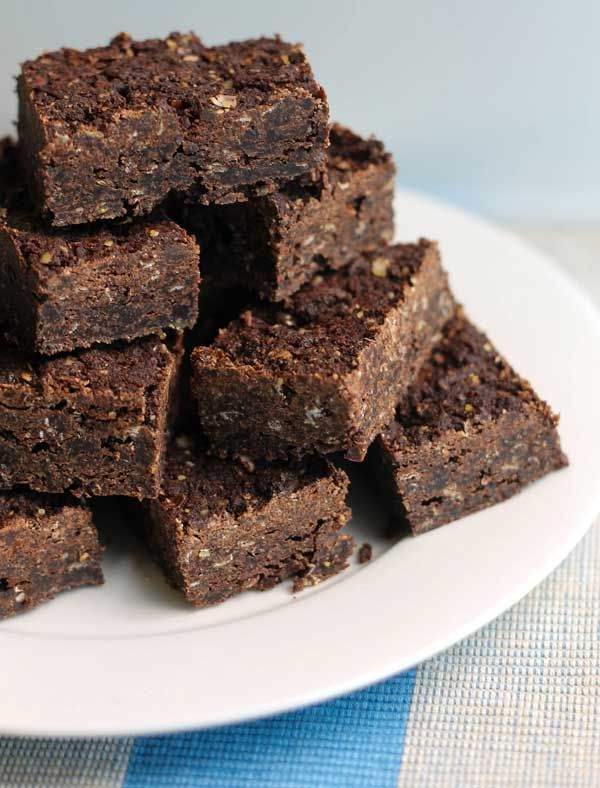 brownies de quinoa receta