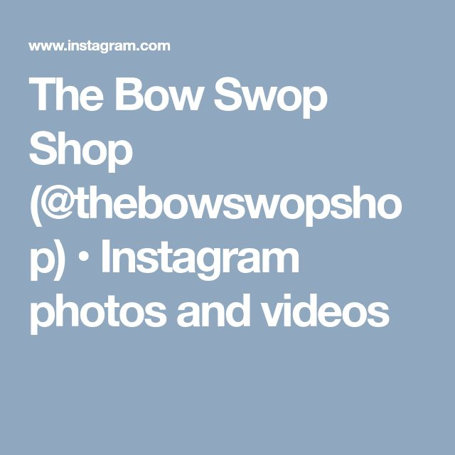 The Bow Swop Shop (@thebowswopshop) • Instagram photos and videos