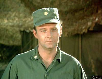 Major Frank Burns - MASH - played by Larry Linville