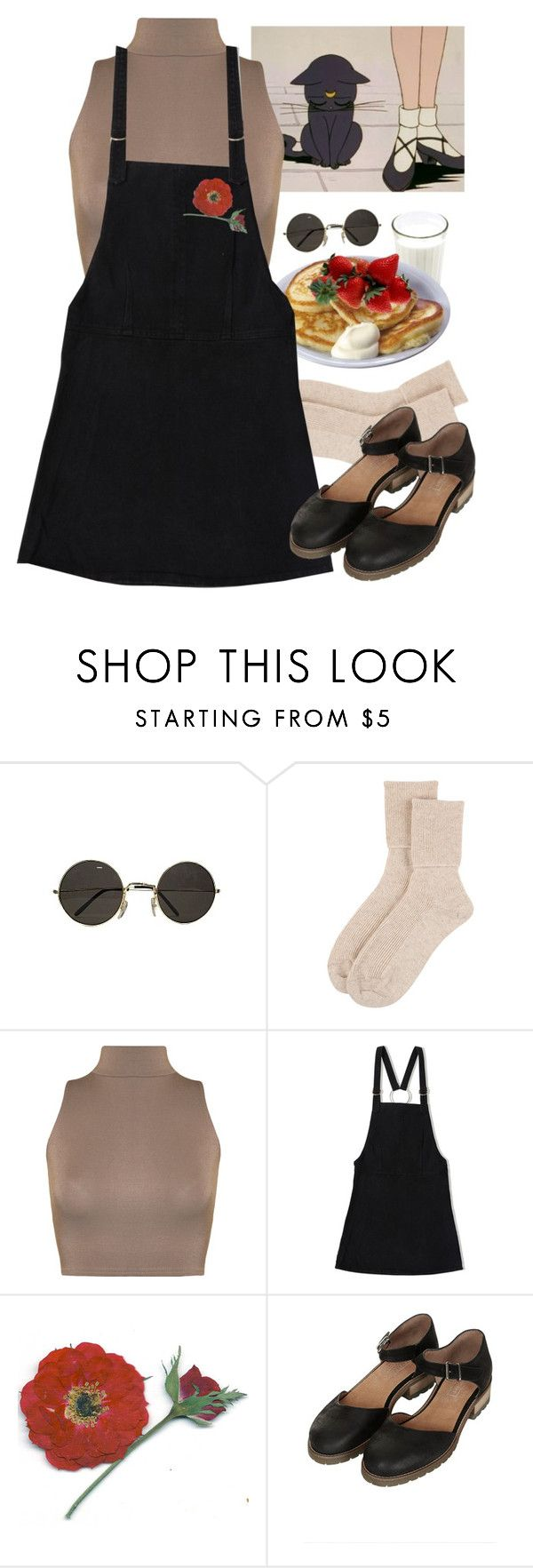 """""""pancakes"""" by paper-freckles ❤ liked on Polyvore featuring Johnstons of Elgin, WearAll, Friend of Mine and Topshop"""