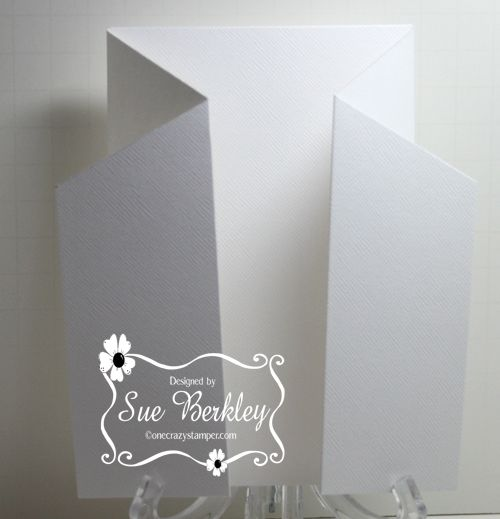 Tuesday is here again and for today's post I have a Cascade Card Tutorial. I originally saw this tutorial on Beccy's Place . It is a rathe...