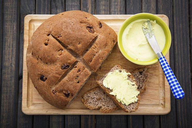 """This butter-substitute spread comes together in about 60 seconds and is similar to the commercial vegan """"butter"""" spreads like those made by Earth Balance."""