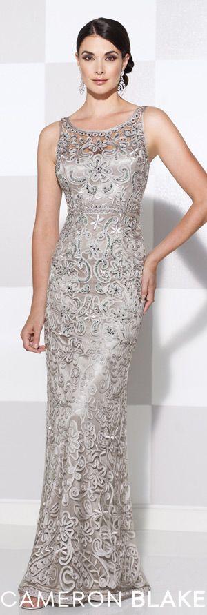 Cameron Blake Spring 2015 - Style No. 115604 cameronblake.com #eveningdresses #motherofthebridedresses