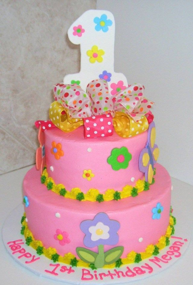 24 Exclusive Image Of 1st Year Birthday Cake Design 1st Year