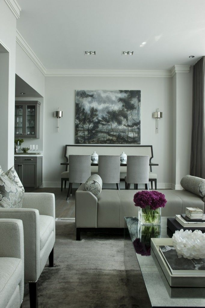 Like the layout for living/Dining room - Trump Tower Residence :  jamesthomas : residential and commercial interior design