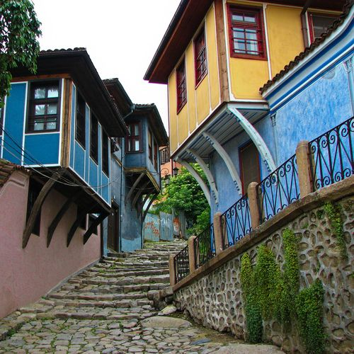 Old City of Plovdiv | Bulgaria (by anynya)