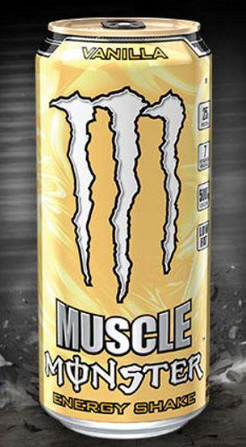 Muscle Monster Energy Shake, Vanilla