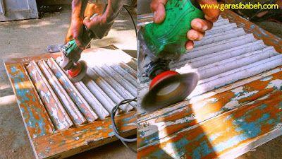 DIY project - vintage windows chalk paint - restorasi jendela bekas - DIY project craft and graphic design sourch