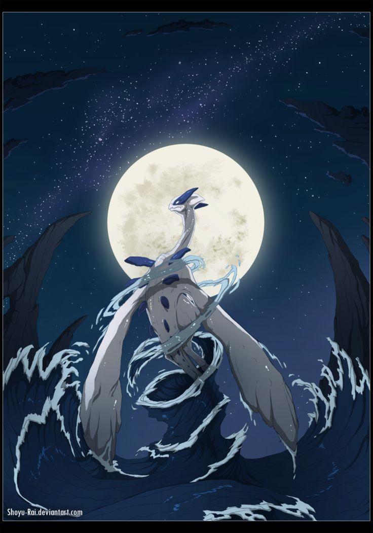 Lugia. Guardian of the Sea by Shoyu-Rai on deviantART.