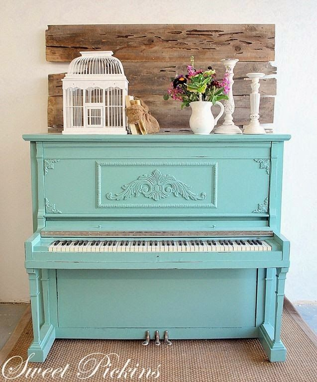 11 best Chalk Paint Piano images on Pinterest | Painting furniture ...