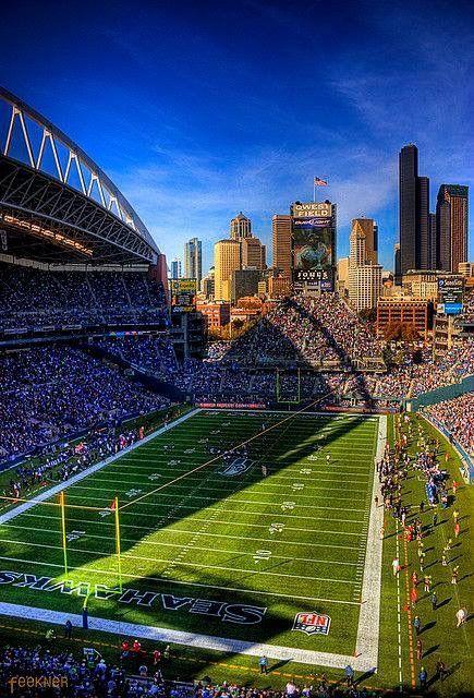 Century link field Seahawks Seattle