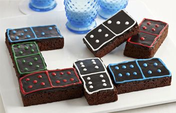 how to make cookie brownies from dominos