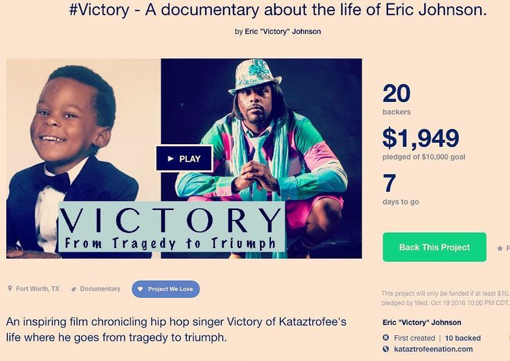 Thanks so much to our latest donors: Chelsea Crundall Krystal Smith LaQuonia Henderson Taryn Mitchell Richy Jacobs and Kathrin Eyben! Let's keep the momentum going! Sharing is caring!! http://ift.tt/2drXhQn  #Victory of @kataztrofee #documentary #film #indie #tragedy2triumph #socialjustice #changemaker #hiphop #KataztrofeeReliefFund #kickstarter #crowdfunding